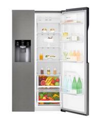 Bild zu LG GSL 360 ICEZ Amerikanischer Side-by-Side (Wasser- und Eisspender, No Frost, 591 Liter, Grau, A++) für 827,10€ (Vergleich: 959€)
