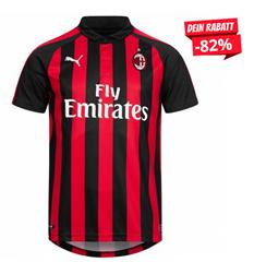 Bild zu AC Mailand PUMA Heim Trikot 2018/2019 für 25,94€ (Vergleich: 33,02€)