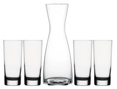 Bild zu 2x 5-teiliges Spiegelau Gläserset mit Karaffe für 19,80€ (Vergleich: 39,98€)