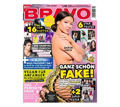 """Bild zu [nur noch heute] Jahresabo (13 Ausgaben) der Zeitschrift """"BRAVO"""" für 31,20€ + 25€ Amazon Gutschein als Prämie (auch andere Prämien zur Auswahl)"""