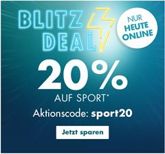 Bild zu Galeria.de: nur heute 20% Rabatt auf Sport