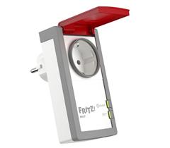 Bild zu AVM FRITZ!DECT 210 (intelligente Steckdose für Smart Home, mit Spritzwasserschutz (IP 44) für Einsatz im Außenbereich) für 39,99€ (Vergleich: 45,99€)