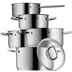 Bild zu WMF Topf-Set Intension (5-teilig) mit Schüttrand und Glasdeckel für 96,55€ (Vergleich: 129,95€)