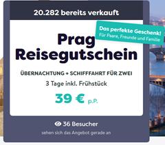 Bild zu Prag: 2 Nächte für 2 Personen inkl. Frühstück für 39€ pro Person