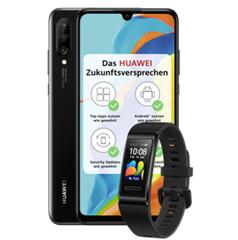 Bild zu Huawei P30 Lite New Edition 256GB inkl. Huawei Band 4 Pro für 1€ mit 5GB LTE Datenflat, SMS und Sprachflat im o2 Netz für 14,99€/Monat