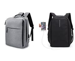 Bild zu 2 verschiedene Laptop Rucksäcke mit USB Ladeanschluss für 19,99€ dank 50% Rabattcode