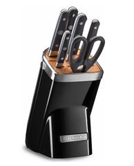 Bild zu KitchenAid Messerblock »KKFMA07OB« (7tlg) mit Diamant-Wetzstahl für je 159,99€ (Vergleich: 285,89€)