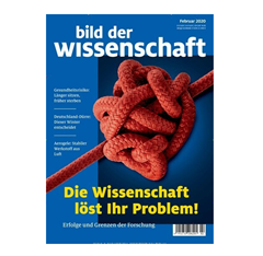 """Bild zu 14 Ausgaben der Zeitschrift """"Bild der Wissenschaft"""" für 124,60€ + 110€ als Prämie"""