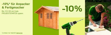 Bild zu eBay: 10% Rabatt auf ausgewählte Artikel in den Bereichen Haus & Garten