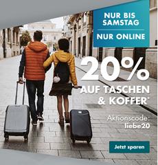 Bild zu Galeria.de: 20% Rabatt auf Taschen & Koffer