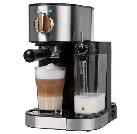 Bild zu Espressomaschine MD 17116 (15bar, integrierter Milchaufschäumer, 1.470 Watt, 1,2 l Wassertank) für 92,94€ (VG: 116,91€)