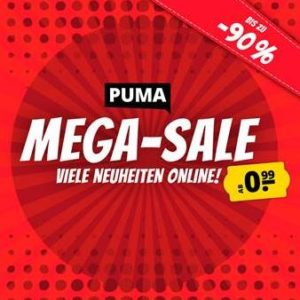 Puma Mega Sale