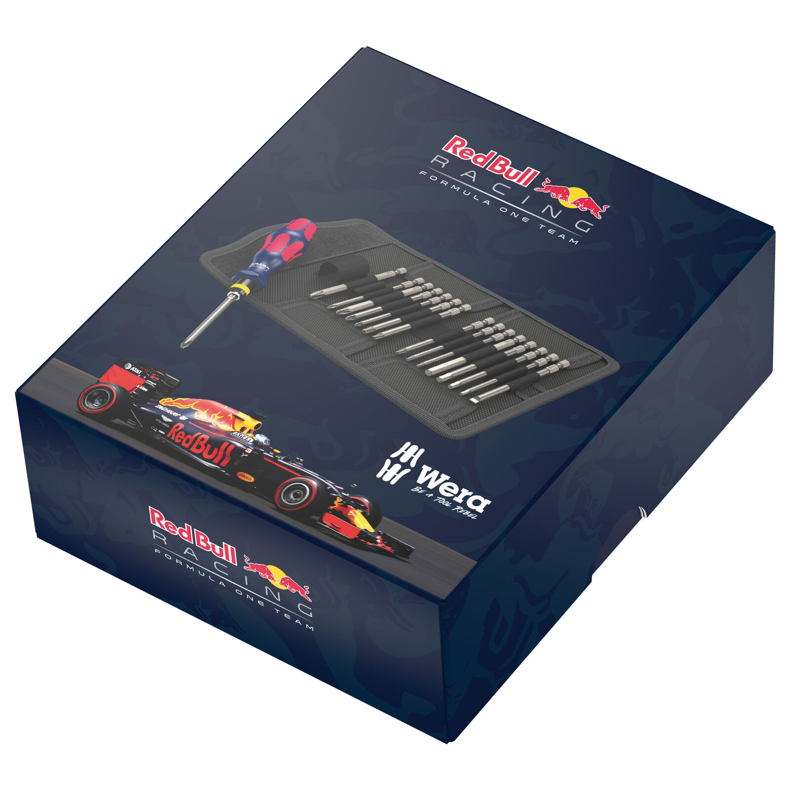 Bild zu 17-teiliges Schrauendreher-Set Wera Red Bull Racing Kraftform Kompakt 60 für 31,49€ (Vergleich: 43€)