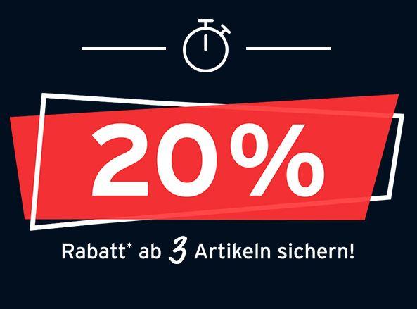 Bild zu Tchibo: 20 % Extra-Rabatt beim Kauf von 3 Aktionsartikeln
