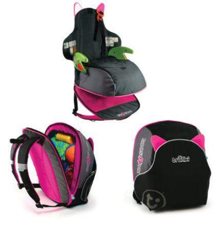 Bild zu Trunki BoostApak (Schwarz mit Pink) für 45,99€ (VG: 58,94€) dank Gutschein