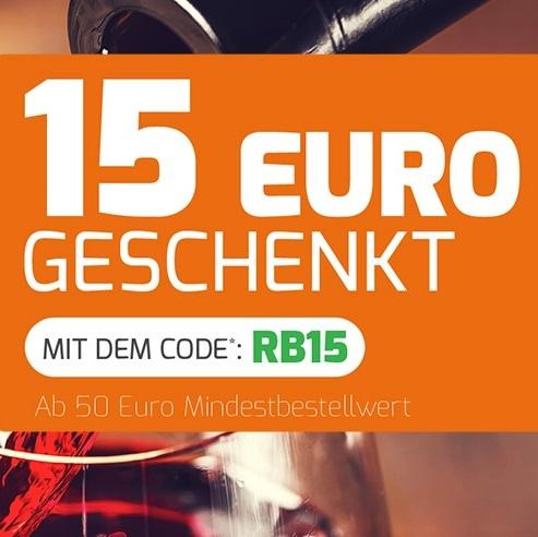 Bild zu Weinvorteil: 15€ Rabatt auf das gesamte Weinsortiment (ab 50€ MBW)