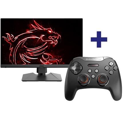 Bild zu 27 Zoll LED-Monitor MSI Optix MAG272R mit SteelSeries Stratus XL Gaming Controller für 229€ (Vergleich: 313,83€)