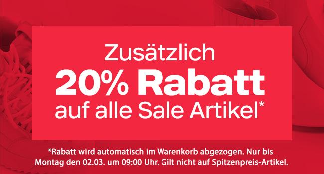 Bild zu Deichmann: 20% Extra-Rabatt auf alle Sale Artikel