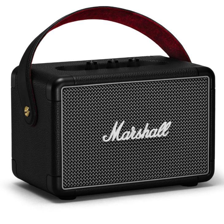 Bild zu MARSHALL Marshall Kilburn II (Bluetooth-Lautsprecher, 36 Watt, Schwarz) für 159€ (VG: 184,99€)