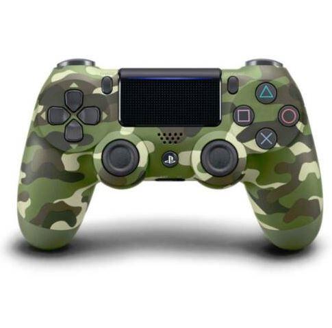 Bild zu SONY DUALSHOCK 4 Wireless-Controller (green camouflage V2) für 42,94€ (VG 55,05€)