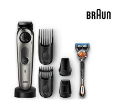 Bild zu Braun Barttrimmer und Haarschneider BT7040 inkl. Gillette Rasierer für 50,90€ (Vergleich: 62,95€)