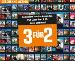 Bild zu Saturn: 3 für 2 Aktion auf Spiele (für PS4, Xbox One, PC)