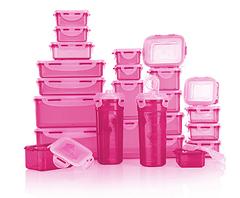 Bild zu LocknLock Frischhaltedosen (stapelbar, 180ml-2.3l, 24 Dosen) ab 24,22€