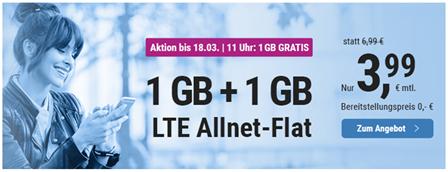 Bild zu Simply: monatlich kündbaren Vertrag im o2-Netz mit 2GB LTE Datenflat, SMS und Sprachflat für 3,99€/Monat + 9,99€ Anschlussgebühr (entfällt bei 24 Monaten)
