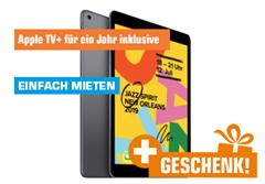 Bild zu APPLE iPad (2019), Tablet, 128 GB, 10.2 Zoll, iPadOS, Space Gray + APPLE MK0C2ZM/A Pencil, Eingabestift für 459€