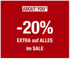 Bild zu [endet heute] About You: 20% Extra Rabatt auf bereits reduzierte Artikel (ab 75€ MBW)