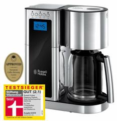 Bild zu RUSSELL HOBBS Kaffeemaschine Elegance für 49,99€ (Vergleich: 58,79€)