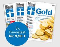 Bild zu 3 Ausgaben Finanztest + Archiv-CD 2019 und Jahrbuch 2020 für 9,90€