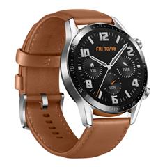 Bild zu HUAWEI Watch GT 2 Classic Smartwatch 46mm braun für 189,90€ (Vergleich: 211,54€)