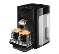 Bild zu PHILIPS Senseo Quadrante HD7865/60 Kaffeepadmaschine für 69,99€ (Vergleich: 84,90€)