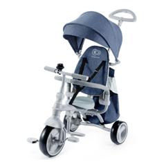 Bild zu Kinderkraft 6 Tricycle JAZZ (Multifunktionales Dreirad mit Drehsitz) blau oder rosa für je 54,99€ (Vergleich: 79,95€)