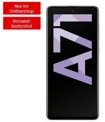 Bild zu SAMSUNG Galaxy A71 für 44€ (VG: 409,95€) mit 5GB LTE Datenflat, SMS und Sprachflat im o2 Netz für 14,99€/Monat