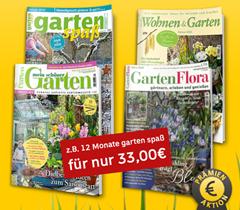 """Bild zu Gartenzeitschriften günstig beim Leserservice der Deutschen Post, so z.B. das Jahresabo """"GartenFlora"""" für 46,60€ mit bis zu 40€ Prämie"""
