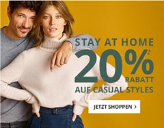Bild zu Peek & Cloppenburg*: 20% Rabatt auf tausende Casual-Styles