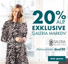 Bild zu Galeria.de: 20% Rabatt auf exklusive Galeria Marken (z.B. MANGUUN)