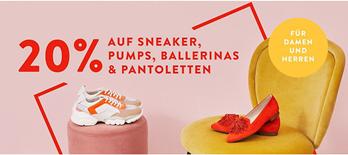 Bild zu Mirapodo: 20% Rabatt auf Sneaker, Pumps, Ballerinas & Pantoletten
