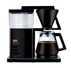Bild zu MELITTA Aroma Signature Deluxe Kaffeemaschine Schwarz für 75€ (Vergleich: 106,99€)