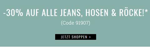Bild zu Orsay: 30% Rabatt auf alle Jeans, Hosen & Röcke