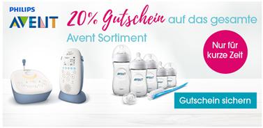 Bild zu Babymarkt: 20% Rabatt auf Philips Avent