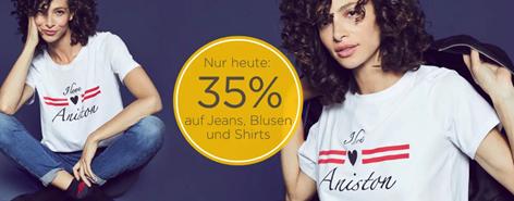 Bild zu Baur: nur heute 35% auf Jeans, Blusen und Shirts