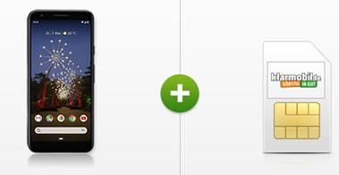 Bild zu Google Pixel 3a für 4,95€ mit Allnet Flat sowie 5GB LTE Datenflat im Vodafone Netz für 14,99€ im Monat