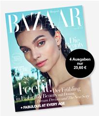 Bild zu 4 Ausgaben Harper´s Bazaar für 25,60€ inkl. 25€ Verrechnungsscheck
