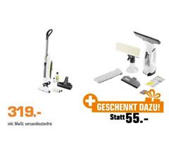 Bild zu Kärcher FC5 Cordless Premium Akku-Hartbodenreiniger + WV2 Premium Fenstersauger für 319€ (Vergleich: 371,99€)