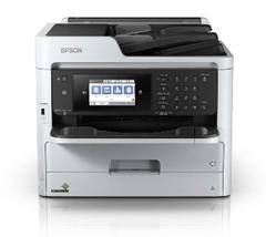 Bild zu EPSON WorkForce Pro WF-C5710DWF Tintenstrahl-Multifunktionsgerät (A4, 4-in-1, Drucker, Kopierer, Scanner, Fax, WLAN) für 184,90€ (Vergleich: 214,89€)