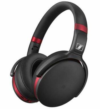 Bild zu SENNHEISERHD 4.50R Kopfhörer Schwarz/Rot für 91,99€ (VG: 119€)