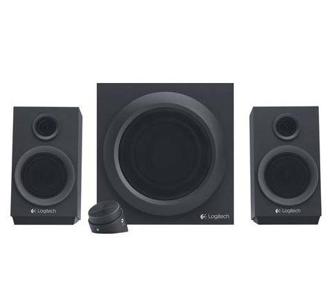 Bild zu LOGITECH Z333, 2.1 Multimedia Lautsprecher, Schwarz für 35€ (VG: 40,94€)